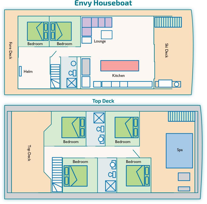 Envy Houseboat   Luxury Houseboats